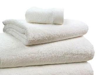 Liou - serviettes de toilette ivoire - Serviette De Toilette
