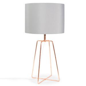 Maisons du monde - crossy copper - Lampe À Poser