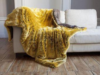 nuance pivoine - ocre jaune - Fourrure D'imitation