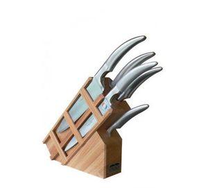 VICTOR - 5 pièces inclinés - Bloc Couteaux