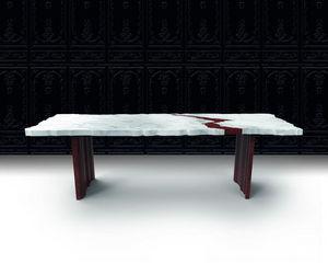 Beau & Bien - frak-tur - Table De Repas Rectangulaire