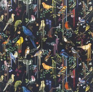 CHRISTIAN LACROIX FOR DESIGNERS GUILD - birds sinfonia crepuscule - Tissu D'ameublement