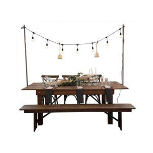 DECO PRIVE - support de table pour guirlande lumineuse - Guirlande Lumineuse