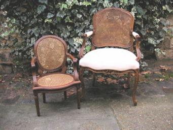Englers - fauteuil louis xvi cann� - Fauteuil Enfant