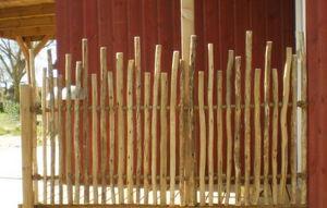 Casa-Africa - clôture à corde en rondins d'eucalyptus - Clôture Pleine