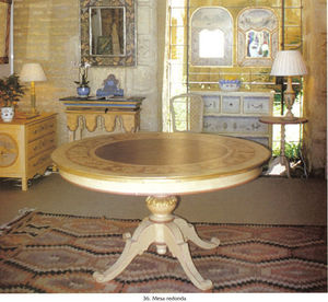 Made In Manilva -  - Table De Repas Ronde