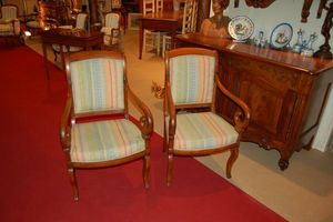 Antiquites Decoration Maurin -  - Fauteuil � Crosse