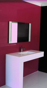 SILESTONE et ECO BY COSENTINO - modèle equilibrium - Lavabo