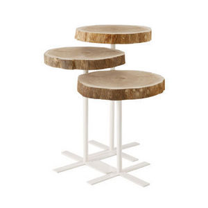 Bleu Nature - paani - Table Basse Ronde