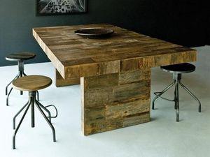 Environmental Street Furniture - marison - Table De Repas Rectangulaire