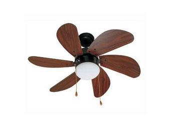 LA BOUTIQUE DE L'AIR - ventilateur de plafond palao 75 cm 6 pales - Ventilateur De Plafond