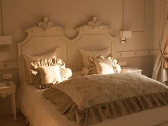 Luc Perron Creation - tete de lit twin coquille louis xv - Tête De Lit