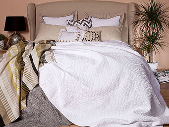Zara Home - couvre-lit et housse de coussin brianna - Couvre Lit