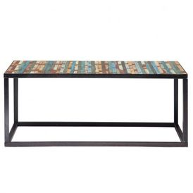 Table basse bahia table basse rectangulaire maisons du - Table basse beton maison du monde ...