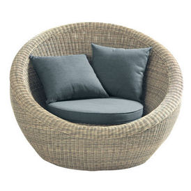fauteuil rond gris saint rapha l fauteuil de terrasse. Black Bedroom Furniture Sets. Home Design Ideas