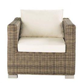 Fauteuil cru saint rapha l fauteuil de jardin maisons du monde - Fauteuil exterieur maison du monde ...