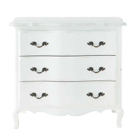 commode blanche sophie commode maisons du monde decofinder. Black Bedroom Furniture Sets. Home Design Ideas