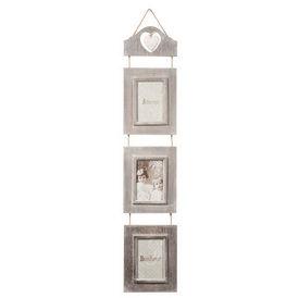 Cadre triple augustine cadre multi vues maisons du monde - Cadre photo maison du monde ...