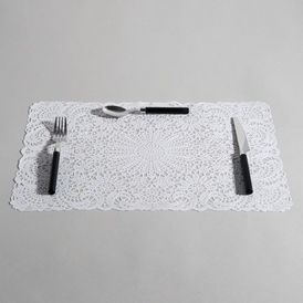 Set de table s ville blanc set de table maisons du monde - Set de table maison du monde ...