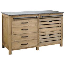 El ment bas 140 cm pagnol meuble de cuisine bas - Maison du monde meuble cuisine ...