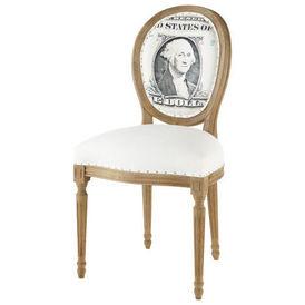 chaise louis dollar chaise m daillon maisons du monde. Black Bedroom Furniture Sets. Home Design Ideas