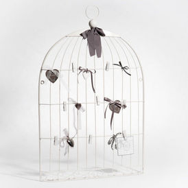 p le m le cage oiseau blanc p le m le maisons du monde. Black Bedroom Furniture Sets. Home Design Ideas