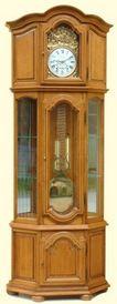 horloge vitrine