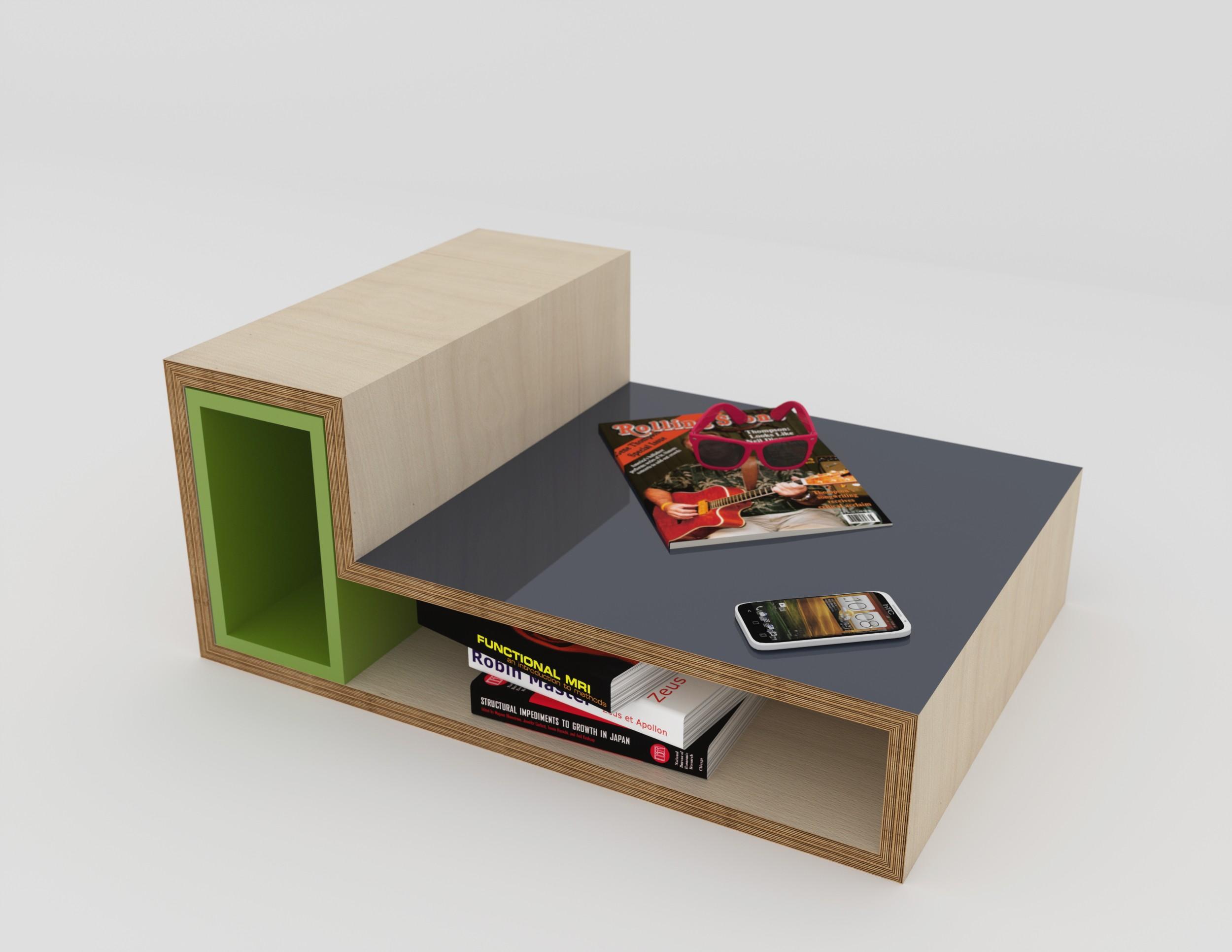 table basse m li m lo simple table basse forme originale. Black Bedroom Furniture Sets. Home Design Ideas
