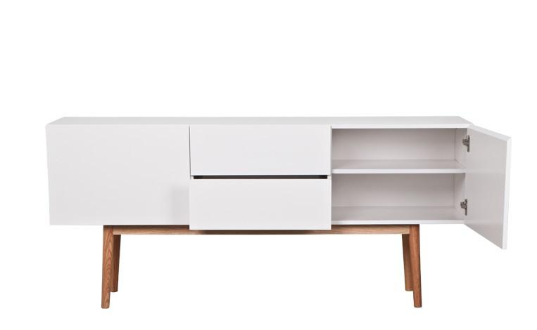 Meuble tv helsinki buffet bas mathi design decofinder - Meuble tv bas design ...