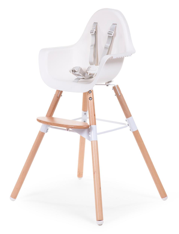 Poterie Goicoechea Pas Cher chaise évolutive 2 en 1 pour bébé coloris blanc et - chaise