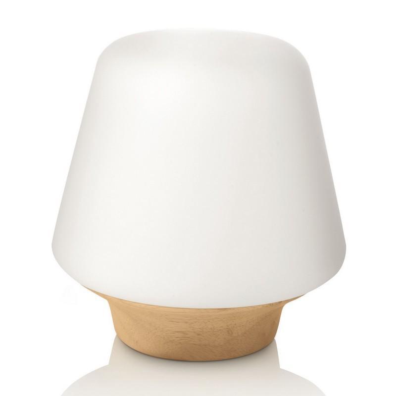 bois lampe poser philips decofinder. Black Bedroom Furniture Sets. Home Design Ideas