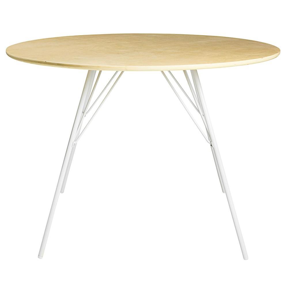 bow table de repas ronde maisons du monde decofinder. Black Bedroom Furniture Sets. Home Design Ideas