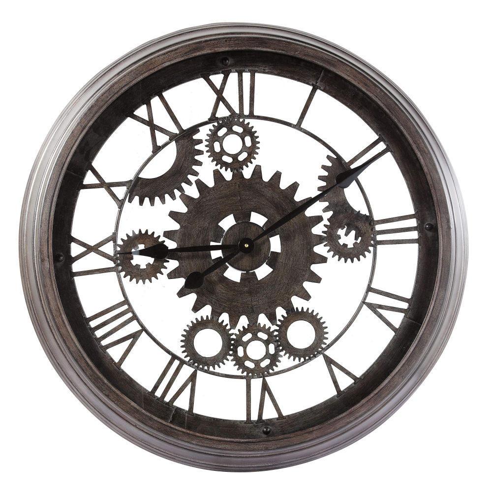 horloge murale maison du monde horloge murale geante maison du monde horloge noire vieillie. Black Bedroom Furniture Sets. Home Design Ideas