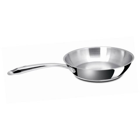 BACKEN - Poêle à cuisiner-BACKEN-Bäcken - Poêle Chambord épaisseur en inox design m