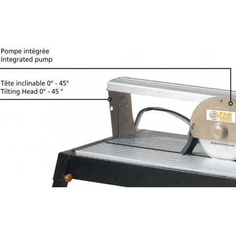 FARTOOLS - Coupe-carrelage-FARTOOLS-Table coupe carrelage  radiale 800 watts gamme pro