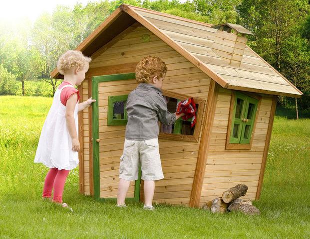 AXI - Maison de jardin enfant-AXI-Maison pour enfant alice en cèdre 95x108x42cm
