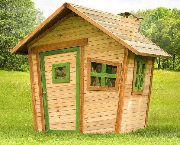 Maison pour enfant alice en c dre 95x108x42cm maison de jardin enfant axi - Maison de jardin pour enfant ...