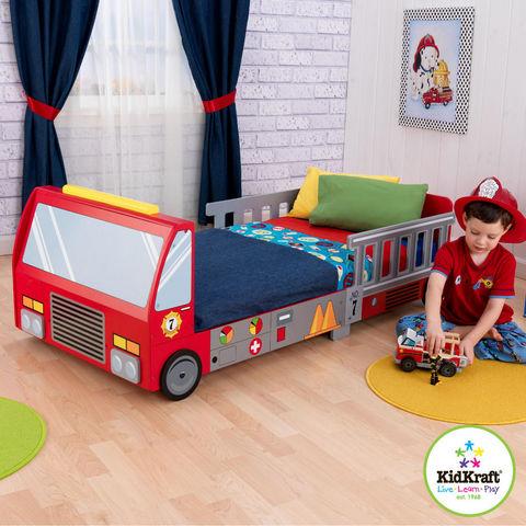 KidKraft - Lit enfant-KidKraft-Lit pour enfant pompier
