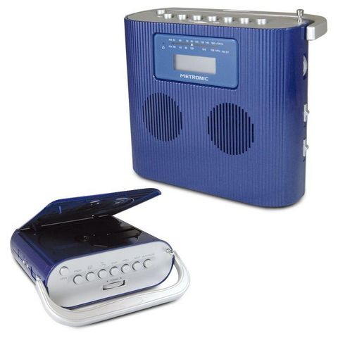METRONIC - Radio CD Portable-METRONIC