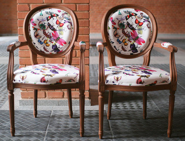 EMERALD COLLECTIONS - Fauteuil médaillon-EMERALD COLLECTIONS
