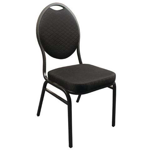 COMFORIUM - Chaise-COMFORIUM-Lot de 4 chaises de banquet avec dossier ovale col