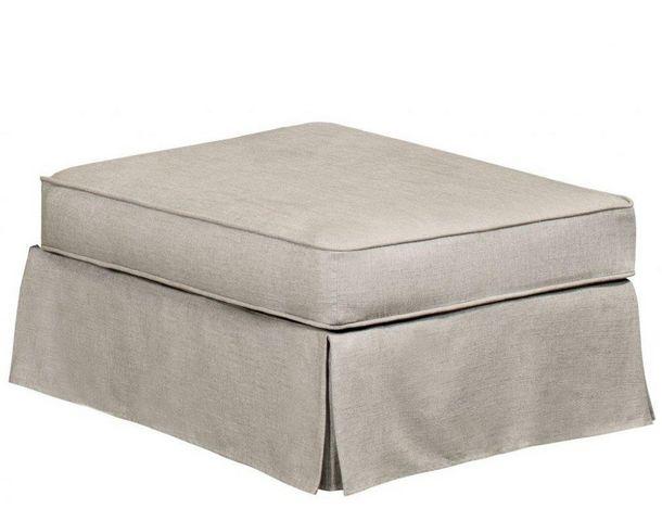 Home Spirit - Canapé modulable-Home Spirit-Canapé d'angle fixe HARRY tissu tweed écru