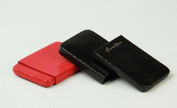 Benneton - Porte-cartes de crédit-Benneton-Lézard