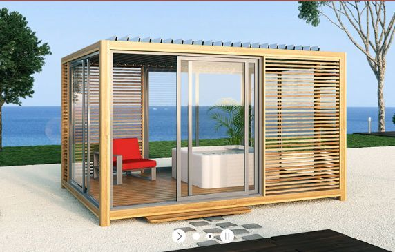 Extaze Outdoor - Pavillon d'été-Extaze Outdoor-Outsun