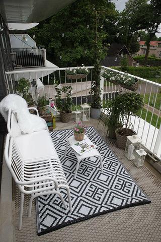 Esschert Design - Tapis d'extérieur-Esschert Design-Tapis de jardin reversible