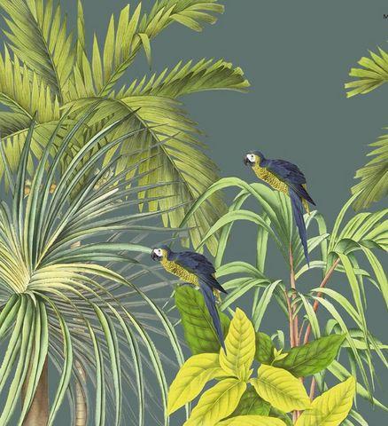 Ananbô - Papier peint panoramique-Ananbô-Koh Chang Fond bleu