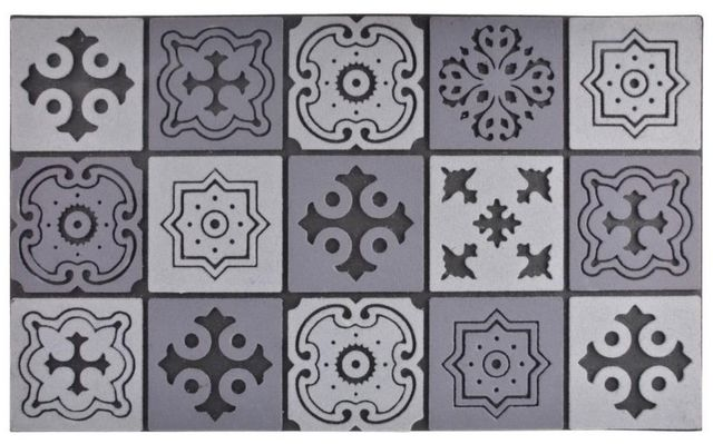 Esschert Design - Paillasson-Esschert Design-Tapis en caoutchouc motif Mosaique