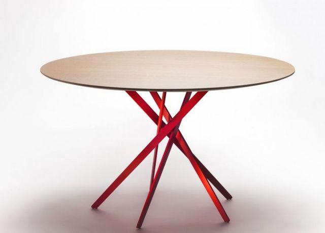 Adentro - Table de repas ronde-Adentro-Iki