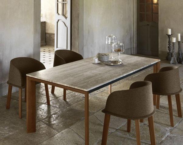 ITALY DREAM DESIGN - Table de repas rectangulaire-ITALY DREAM DESIGN-Clariss