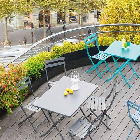 HESPÉRIDE - Table de jardin pliante-HESPÉRIDE